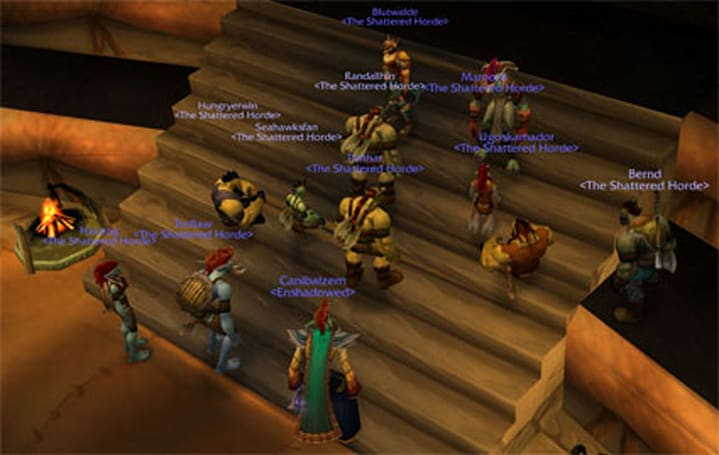 Teaching in WoW