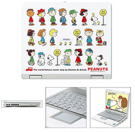 Epson's Peanuts laptop surfaces just in time