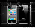 The art and science of the iPhone 4 CAD drawings