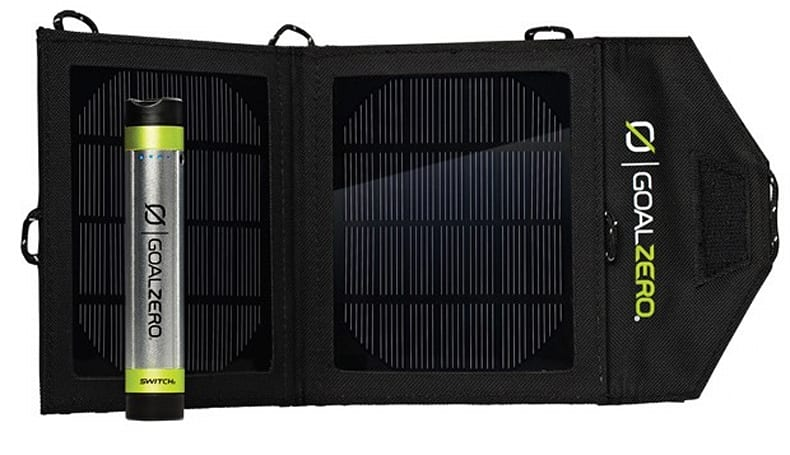 Goal Zero's Switch 8 solar charger bundle now available for $100
