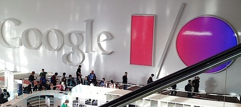 Live from Google I/O's 2014 opening keynote!