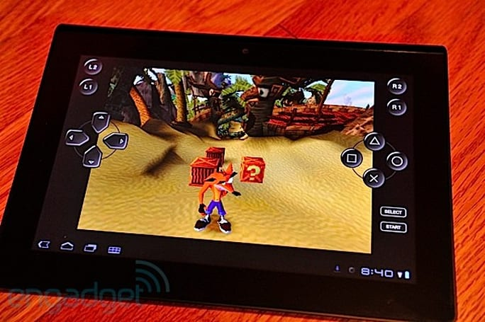 How would you change Sony's Tablet S?