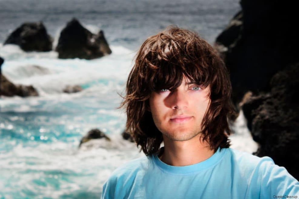 Ecco come un ragazzo di 22 anni ha intenzione di ripulire gli oceani