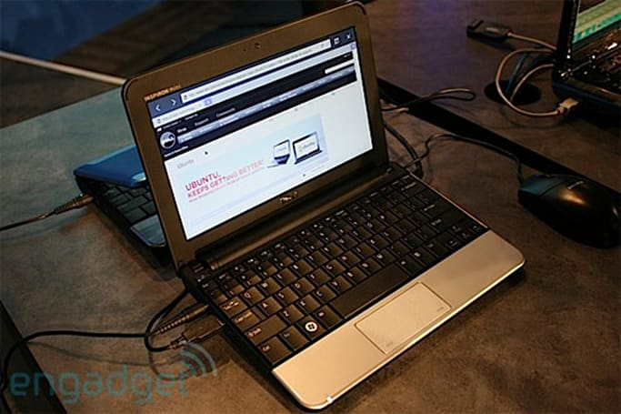 Dell Mini 10v reviewed with Ubuntu Moblin Remix