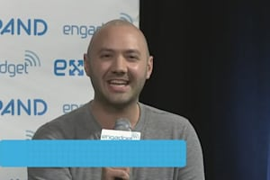 Nest's Matt Rogers Backstage at Expand