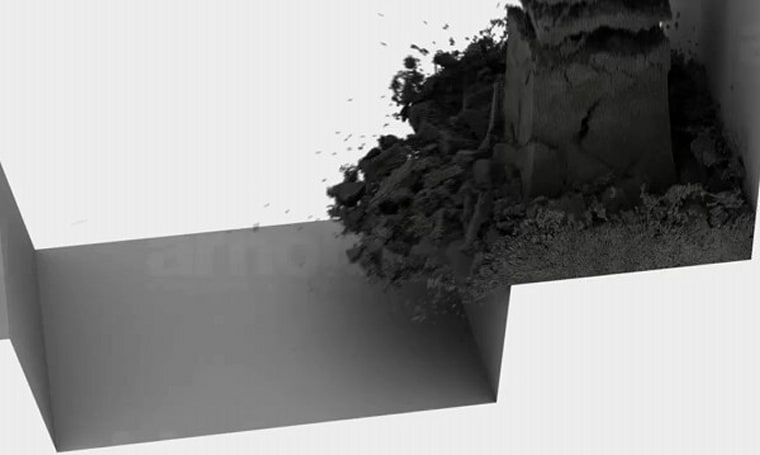 Lagoa Multiphysics 1.0 blows our minds with a shockwave of charcoal dust (video)