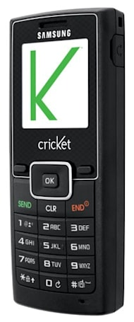 Cricket rolls out Samsung r211 candybar