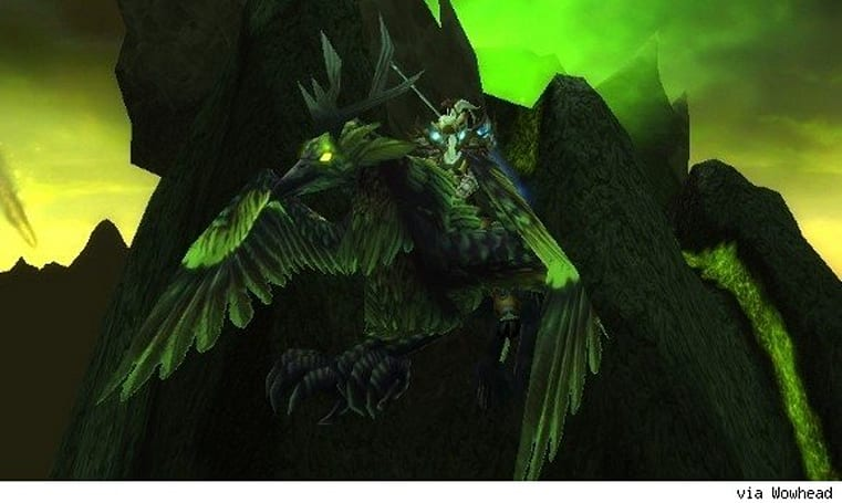 12 Days of Winter Veil Giveaway: Corrupted Hippogryph