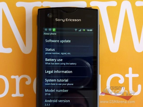 The Sony Ericsson Urushi leaks again: ST18i exposed