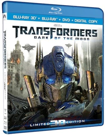 Transformers Blu-ray 3D comes home January 31st in Ultimate and Collector's editions