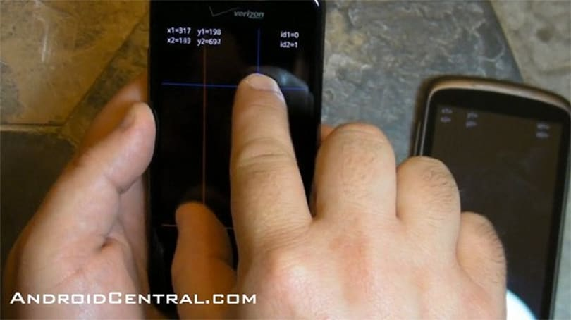 Confirmed: Droid Incredible's multitouch support is better than the Nexus One's