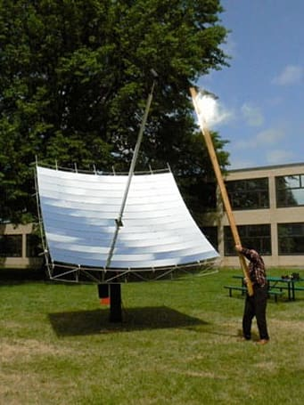MIT solar dish holds promise for low-cost energy production