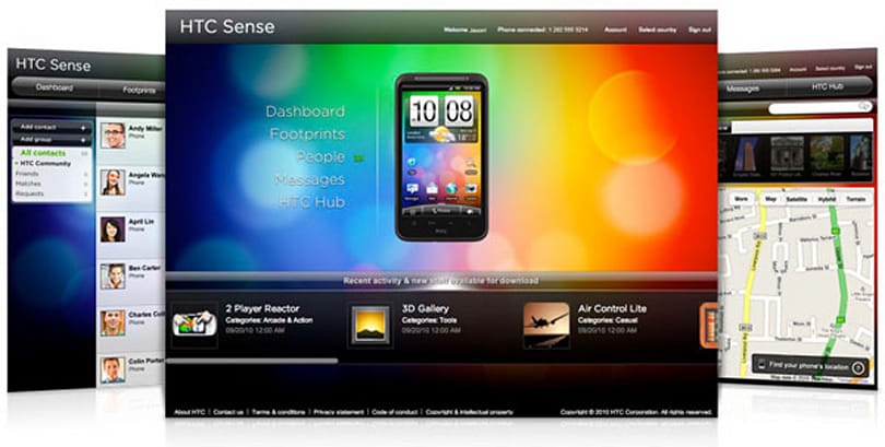 HTCSense.com goes live, only Desire HD and Desire Z supported at launch