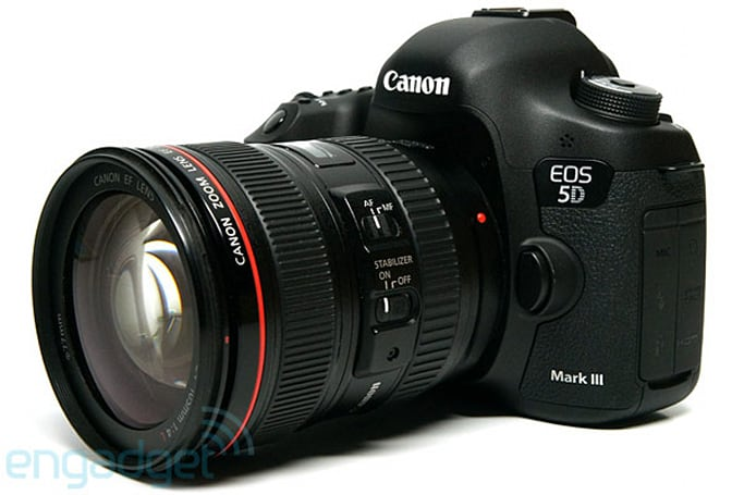Canon 5D Mark III now captures 24 fps RAW video thanks to Magic Lantern firmware add-on (update: Mark II also)