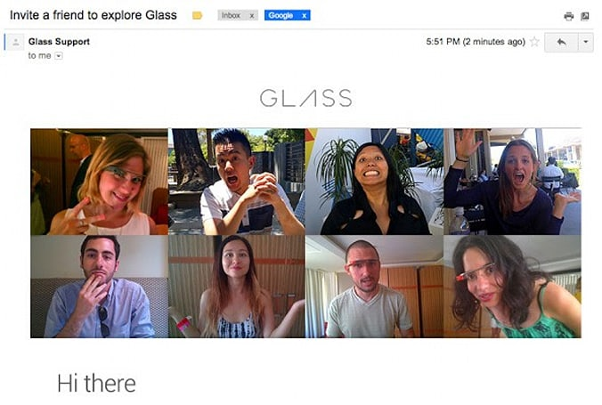 Google tells some Glass Explorers to invite a friend
