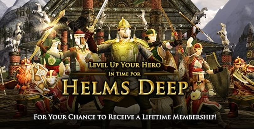 LotRO holds leveling contest for lifetime membership