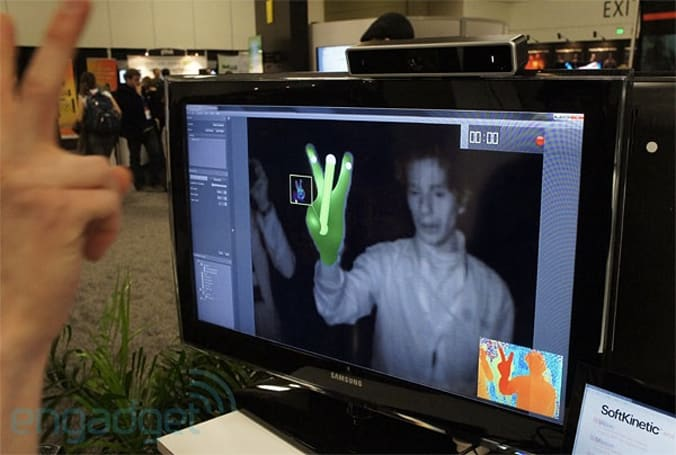 SoftKinetic brings DepthSense range sensor to GDC, hopes to put it in your next TV