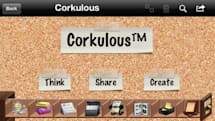 Daily iPhone App: Corkulous brings the beloved cork board to your iOS device