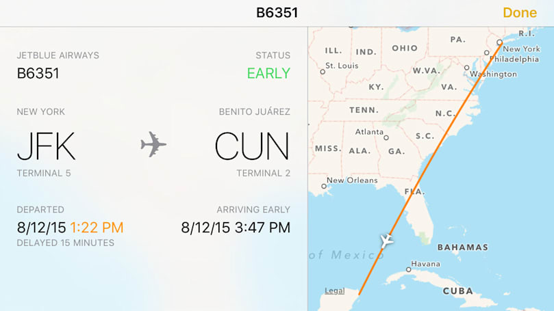 The next versions of iOS and OS X will track your flights