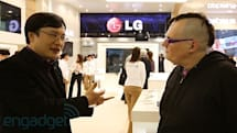The Engadget Interview: Chul Bae Lee, VP of LG's mobile design lab at MWC 2013