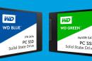 ウエスタンデジタルが一般向けSSDを発表。WD BlueとWD Green、それぞれ2.5インチとM.2をラインナップ