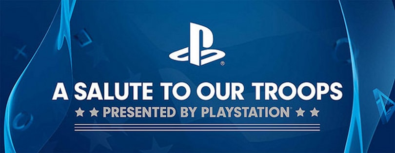 PlayStation troop salute deploys playable PS4s to Kansas