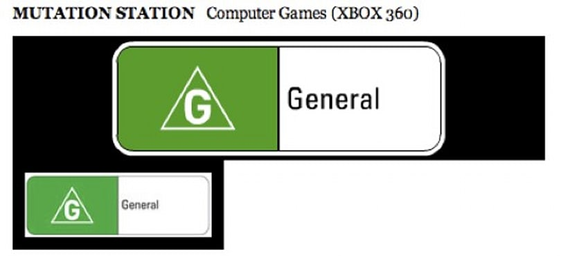'Mutation Station' rated for Xbox in Australia