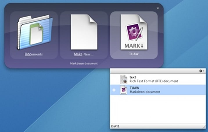 Quicksilver Tip for Switchers: Make New File