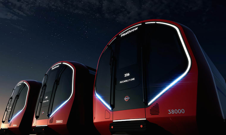These stunning driverless trains are the future of London's Tube network