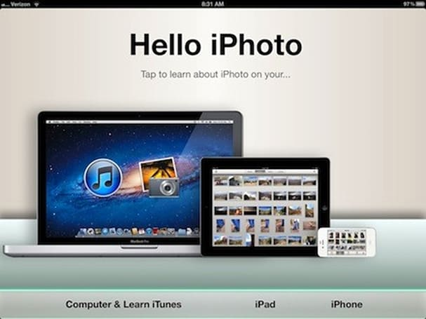 Hello iPhoto for iPad & iPhone is an amazing new way to learn