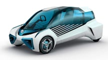 Toyota's hydrogen concept car could power your concept home