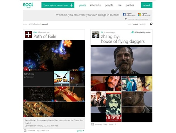 Microsoft launches Socl into Beta, brings the part(ies) to social networking
