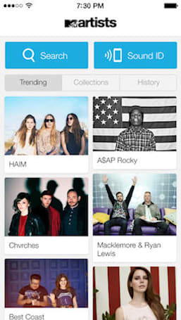 MTV Artists iPhone app wants to help you discover new music, provide a deeper connection with musicians