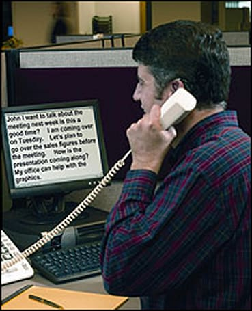 Telecoms opening up for deaf callers