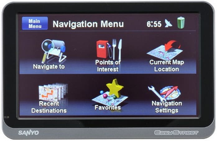 Sanyo EasyStreet NVM-4370 GPS could save your child's bike
