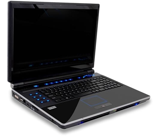 BFG's 18.4-inch Deimos X-10 gaming laptop packs twin GPUs, $1,859 starting tag