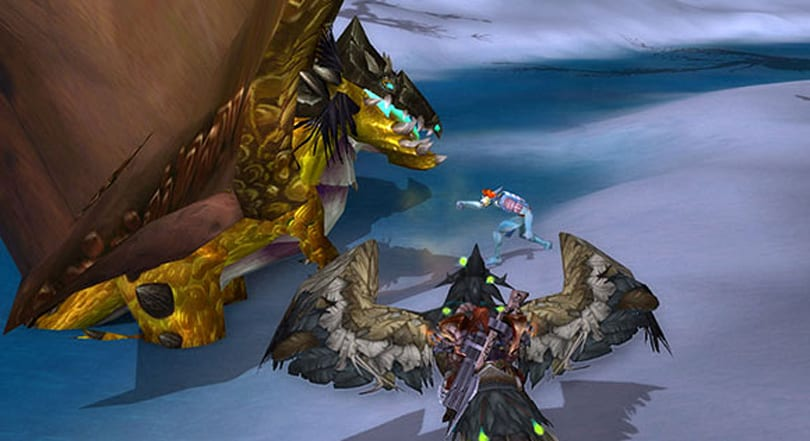 Breakfast Topic: Punching the Time-Lost Proto-Drake