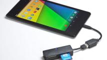 Androidで使えるUSBカードリーダー。57種類のメディアに対応、USBホスト機能も利用可能