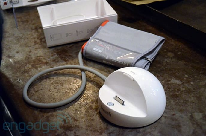 iHealth blood pressure iPod dock: another sort of Apple to keep the doctor away