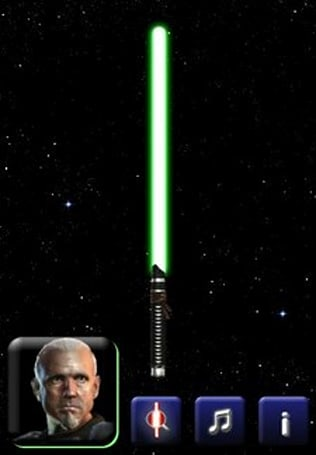 Lightsaber Unleashed returns to the App Store, with ads and dialogue
