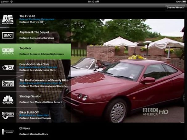 Time Warner removes channels from iPad app while Cablevision prepares one of its own