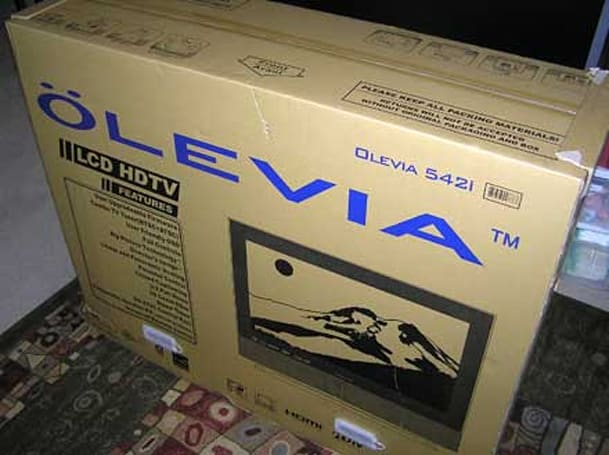 Maxent and Olevia fined for trafficking analog TVs