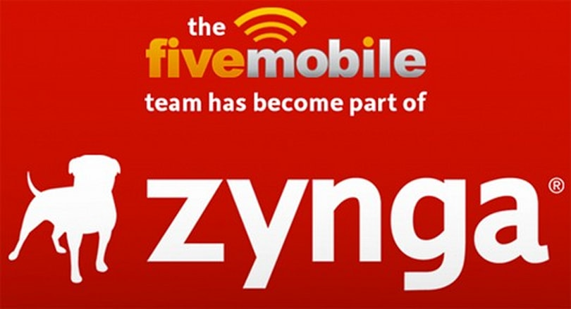 Zynga acquires developer Five Mobile, turns it into Zynga Toronto