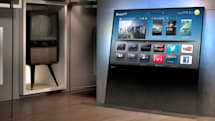 Philips DesignLine TV is a seamless square pane of glass (video)