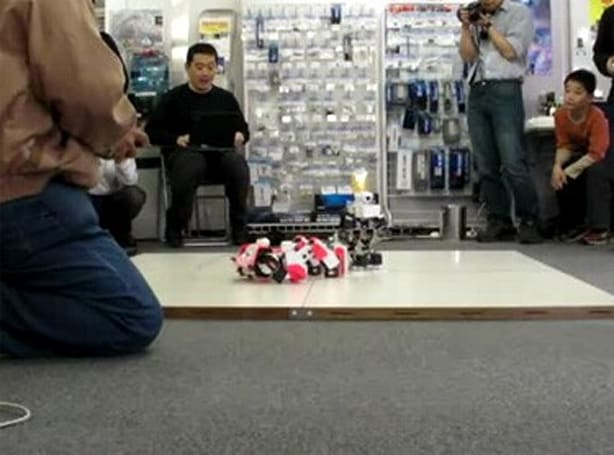 Remote controlled bots do battle at RoboGames 2008