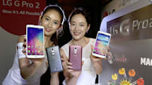 LG's G Pro 2 starts rolling out across Asia