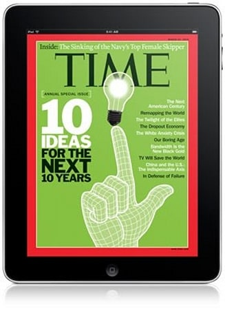 Time Warner CEO hints at tying print, tablet magazine subscriptions together