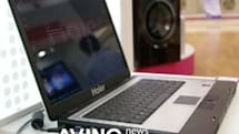 Haier's 15.4-inch W51 laptop completes Merom hat trick
