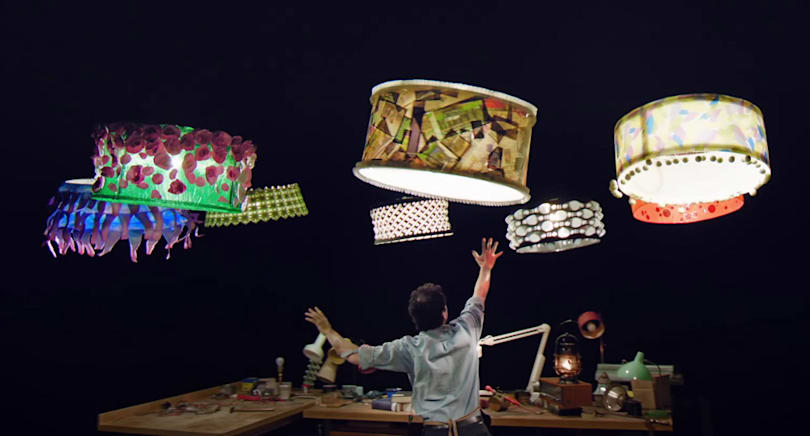 Cirque du Soleil turns drones into dancing lampshades
