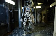 US Navy's firefighting robot finally appears (with a trusty sidekick)